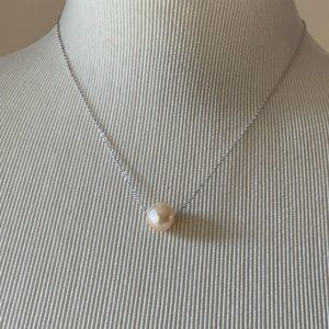 NWT Splendid Genuine Pearl Necklace